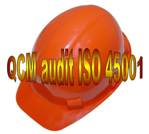E 38 QCM formation audit interne ISO 45001